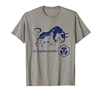 Crypto.com Token BULLRUN CRO Cryptocurrency Blockchain Coin T-Shirt