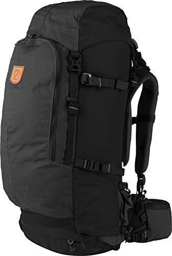 FjallRaven Sac à Dos Trekking Keb 52 W Black-Black