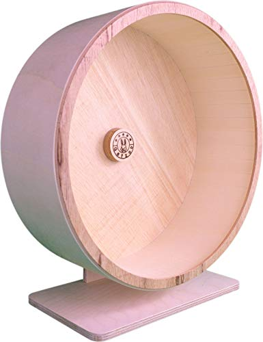Getzoo Ø 33 cm Premium Holzlaufrad (Ø 31,8 cm Innen, Höhe 35-49cm)