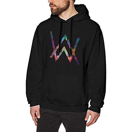 PMQ Alan Walker Men's Cotton Hooded Sports Long Sleeved Hoodie Autumn Winter Sweatshirt