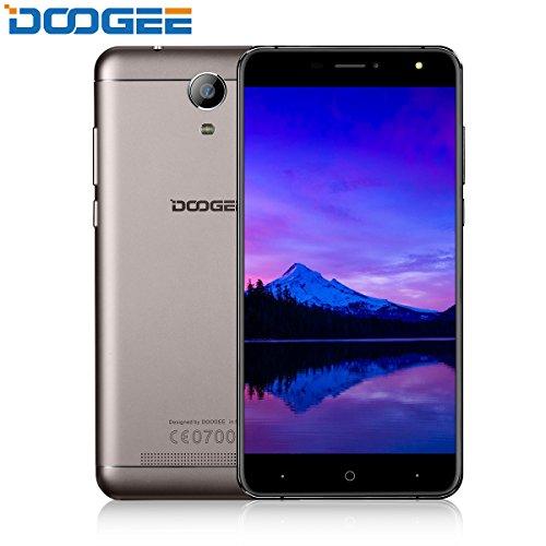 "Celular desbloqueado, smartphone DOOGEE X7S 4G barato, smartphone VR 6.0 Android com tela HD IPS de 6 ""- MTK6737 Quad Core - 1 GB de RAM + 16 GB ROM - 8,0 MP + ..."