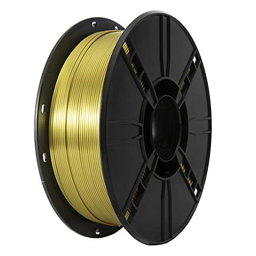 TINMORRY Filamento 1,75 PLA, stampante 3D Filamento 1 kg Spool, Silk Plus Verde Oro