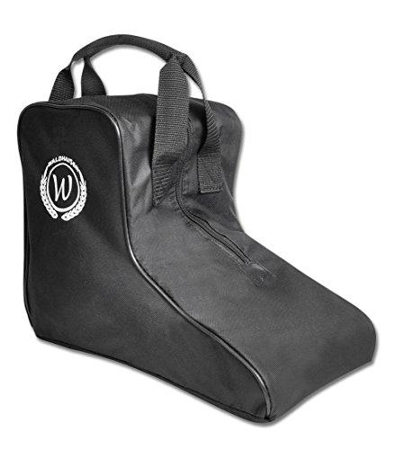 Waldhausen - Funda para botas de equitación con bolsillo exterior, color negro