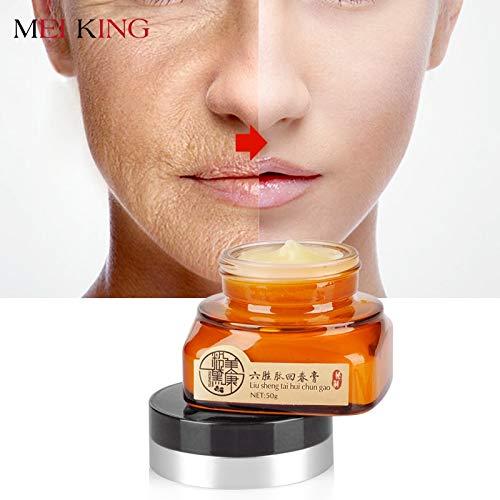 meiking visage crème hydratant Whitening Day Crème acné anti vieillissement rides Collagène Crème blanchissant Brighten Skin Care 50 g