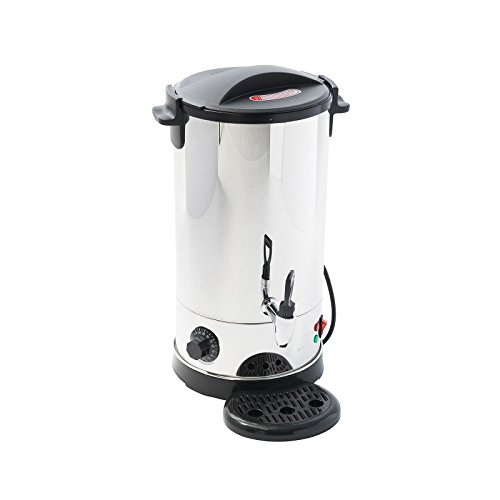 4YourHome 9L Stainless Steel Tea Urn Electric Catering Hot Water Boiler Coffee 1500W