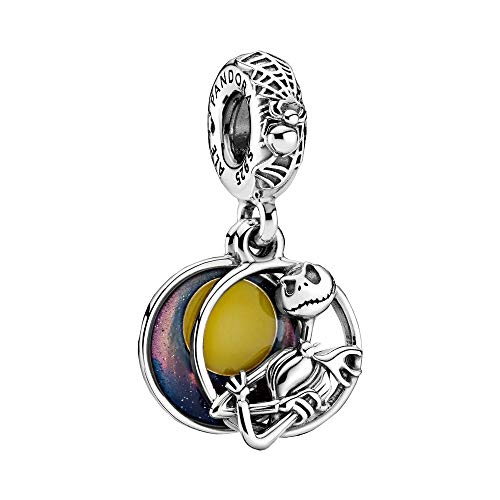 Pandora Disney Nightmare Before Christmas Charm-Anhänger, Sterling-Silber, 799148C01