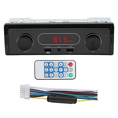 Pasamer Car AUX Stereo FM Reproductor MP3 Radio USB