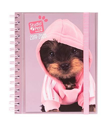 Agenda escolar 2019/2020 semana vista Studio Pets Dogs