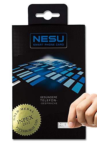 NESU EMF Neutralisierer - Strahlenschutz Chip für Handy I Blocker Absorption Schutz Aufkleber vor Elektrosmog und elektromagnetischer Strahlung I EMF Zubehör