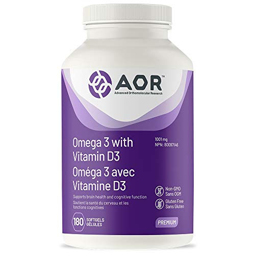 AOR Omega 3 with Vitamin D3 180s