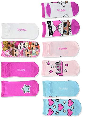 LOL Surprise! Paquete de 5 calcetines cortos para niñas