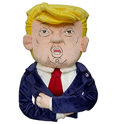 dinofactory Funny Fairway Wood Head Cover - 3 Wood or Mini Driver Headcover, Trump Design, Limited Edition