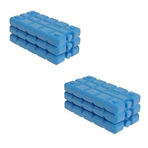 Kühlakkus, wiederverwendbar, Größe ca. 16x9x2cm, 6 Stück 6 Stück
