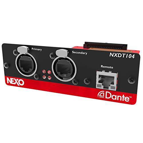 NXDT104-4-Kanal DANTE Netzwerkkarte für NXAMP Leistungs-TD-Controller