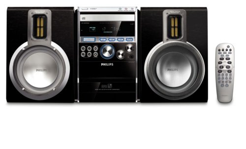Philips MCM 761 Kompaktanlage (CD/MP3/WMA-Player, CD-Ripping, UKW-/MW-Tuner, USB 2.0)