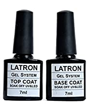 nailes top coat gel and base coat gel