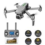 YHM UAV 5G Professionnel 4K Photographie Aérienne Haute Définition 4K, Distance De Contrôle De Positionnement GPS 800 Mètres, UAV Pliable,Backpack Packaging
