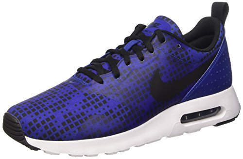Nike Air Max Tavas Print, Scarpe da Running Uomo, Multicolore (Deep Royal Blue/Black-White), 46 EU