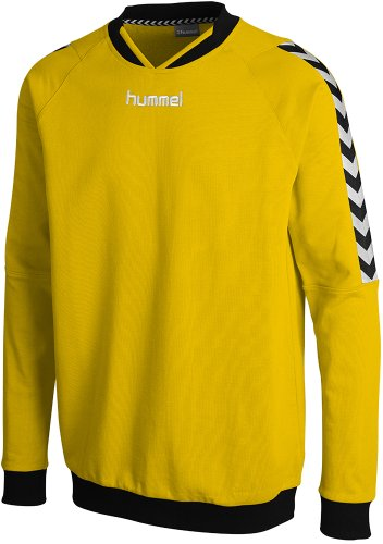 Hummel Herren Sweatshirt Stay Authentic, Sports Yellow, S