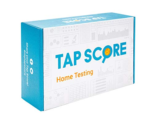 Professional Water Test by SimpleWater Labs, Certified Tap Score Home Kit