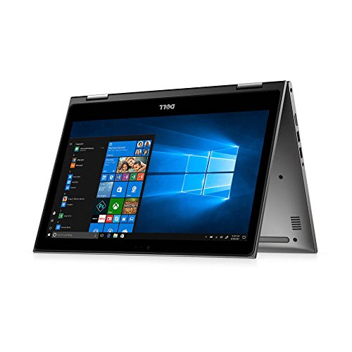 """Dell Inspiron 13 5000 2-in-1 - 13.3"""" Touch Display - 8th Gen Intel Core i5-8250U - 8GB Memory - 1 TB Hard Drive - Theoretical Gray (i5379-5043GRY-PUS)"""