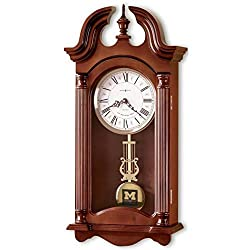 M. LA HART Michigan Howard Miller Wall Clock
