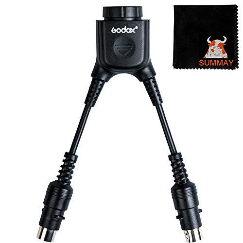 GODOX DB-02 Cavo adattatore a forma di Y 2 a 1 per PROPAC Power Pack PB960 Flash AD360 AD180 (DB-02 Y-type)