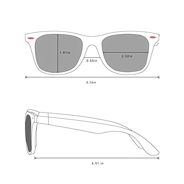 PoJaka Polarized Mens Driving Sunglasses for Men Women TR90 Frame Driving Fishing Cycling Outdoor Activity