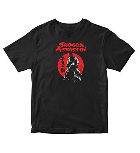 Allforenjoy Camiseta de Moda Samurai Cult Shogun Assassin Lone Wolf and Cub Japan Fashion para Hombre