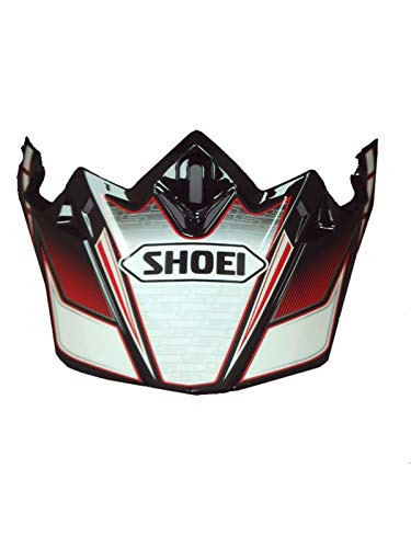 Shoei Rot Vfx-W Sabre Tc1 Mx Helm-Visier (One Size, Rot)
