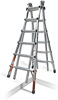 Little Giant Quantum Multi-Use Ladder 300 Pound Rating (Model 26 Ratchet Levelers)