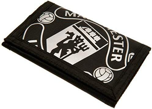 Manchester United FC Nylon Black Wallet Official Merchandise product image