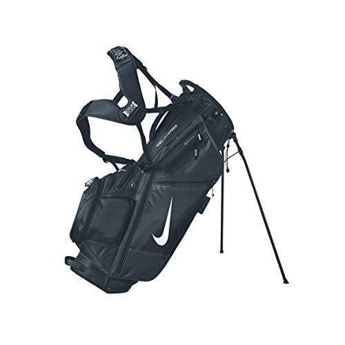 Nike Unisex– Adult's AIR Hybrid GB Golf Bag, Black/White, OSFM
