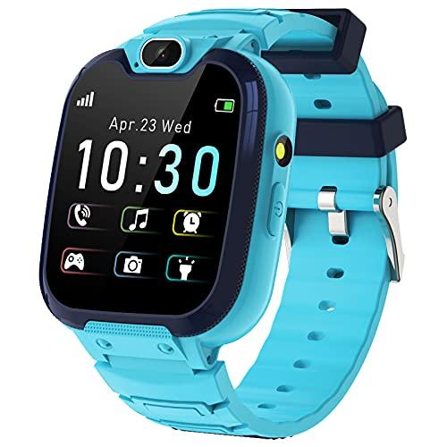 Smartwatch Niños - MP3 Música 14 Juegos Niños Reloj Inteligente llamada Chat...