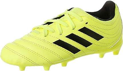 adidas Copa 19.3 FG J, Zapatillas de Fútbol, Multicolor (Solar Yellow/Core Black/Solar Yellow F35466), 35 EU