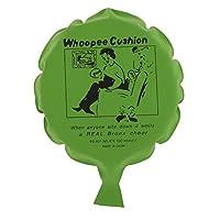 #N/A ノベルティブーブークッションおならフーピージョークいたずらギャグトリックウーピーバルーンおもちゃ - 緑, 16センチメートル