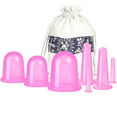 Silicone Anti Cellulite Cup Vacuum Suction