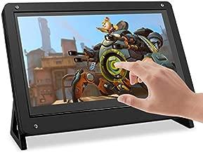 Kuman 7 Inch Raspberry Pi Touch Screen SC7BC IPS LCD Display HDMI Monitor 1024x600 for Raspberry Pi 4 B 3 2 1 B B+ A BB Black PC