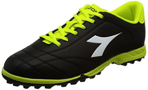 Diadora 6play Tf, Herren Fußballschuhe, Mehrfarbig - C3740 Nero - Größe: 40