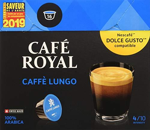 Café Royal Caffé Lungo 48 dosettes Compatibles avec...