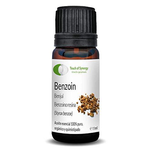 Aceite esencial de Benjuí (Styrox benzoe) 100% Puro, orgánico y quimiotipado (10mL)