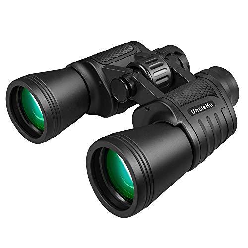 UncleHu Binocolo ad alta potenza 20x50 per adulti con visione chiara, binocolo compatto impermeabile...