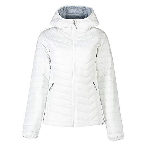 Columbia Powder Lite, Veste à Capuche Femme, Blanc (White), L