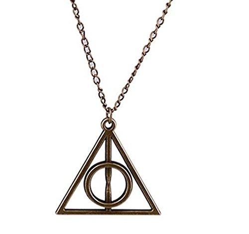 Anhänger Halskette Harry Potter Heiligtümer des Todes die Heiligtümer des Todes – Bronze
