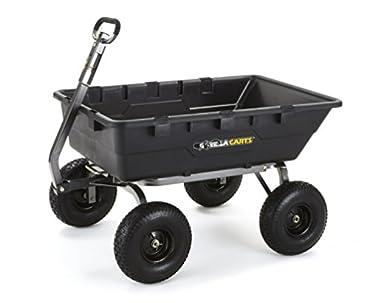 Gorilla Carts 1500lb capacity dump cart