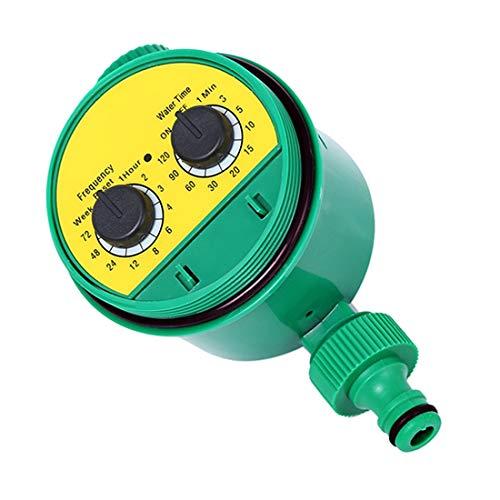 Temporizador de Agua electrónica de jardín, válvula solenoide Digital Regalador de riego Inteligente Sprinkler Controlador de programas de Agua Digital