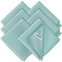 MR.SIGA - Paños de Microfibra Ultra Finos para Cristal, 6 Unidades, 35 x 40 cm