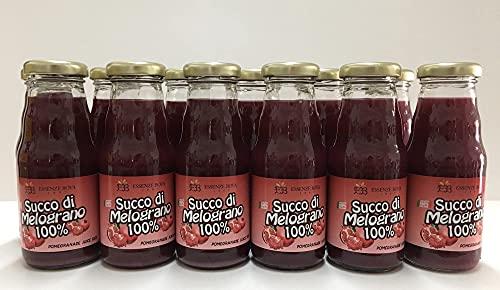 Succo di Melograno Bova puro al 100% 20 cl (12 Bottiglie)