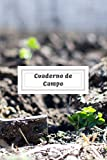 Cuaderno de Campo: Cuaderno de Jardinería con 110 Páginas | Incluye Plano del Huerto, Ficha de Cultivos, Calendario... | Regalo Perfecto para Aficionados a la Jardinería o Agricultura