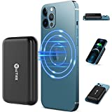 WAITIEE Magnetic Power Bank, 10000mAh Power Bank with USB-C Cable, Fast Magnetic Wireless Portable Charger for iPhone 12/12 Pro/12 Pro Max